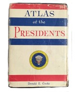 Atlas of the Presidents Donald Cooke 1964 American History Vintage Child... - $16.82