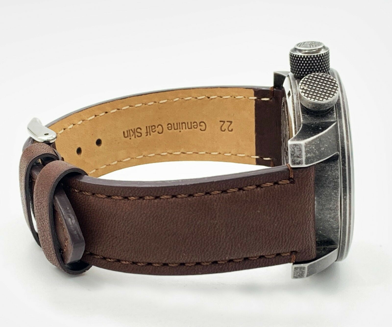 TIMBERLAND MASCOMA Black Dial leather Strap Quartz Mens Watch TBL.14783JSQ 02