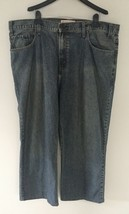 Levi's Strauss Signature Jeans Size 102 Low Loose Boot Full Length - $13.93