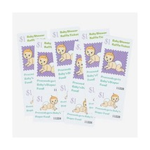 Baby Shower Raffle Tickets ~ Fun Game (pack of 24) - ₨605.88 INR