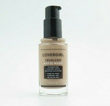 Covergirl Trublend Matte Made Liquid Foundation *Choose your shade*Twin ... - $12.39