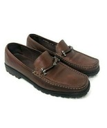 Cole Haan Womens Size 8 Shoes Loafers Dark Brown Leather Horsebit D18086 - $39.59