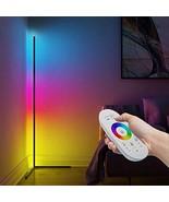 Modern Minimal Kona Floor Lamp RGB LED Corner Lamp Color Changing Nordic... - $999.99