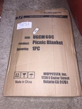 SONGMICS Picnic Blanket Waterproof Beach Mat UGCM60C 1 PC New In Damaged... - €10,55 EUR