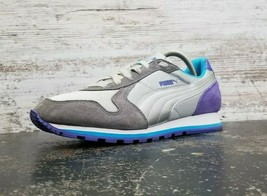 Womens Puma Cross Trainer Athletic Shoes Sz 8.5 Used 358575 03 Gray Suede  - $29.69
