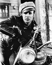 Marlon Brando The Wild One B&W 16x20 Canvas Giclee - $69.99