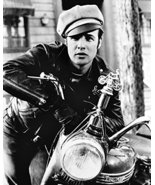 Marlon Brando The Wild One B&W 16x20 Canvas Giclee - £54.69 GBP