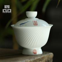 TANGPIN Drinkware Handpainted Ceramic Kung Fu Tea Set - $37.95