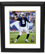 Marcus Mariota signed Tennessee Titans 8x10 Photo Custom Framed #8 (navy... - $109.95