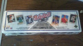 1991 Upper Deck Factory sealed set 800 cards with high numbers - $22.99