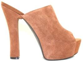 Women's Shoes Jessica Simpson FINNIE 2 Platform Open Toe Mules Suede LUG... - $62.99