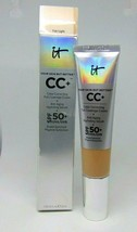 IT COSMETICS CC+ Correcting Cream + Anti-Aging Serum Light Medium 1.08oz... - $28.95