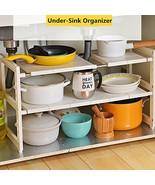 OBOR Expandable Under Sink Organizer - 2 Tier Multifunctional Storage Ra... - $23.12