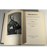 Antique 1932 Book & Original Letter 1st Edition William Sherman Fighting... - $284.99