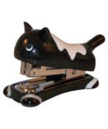 adorable cat mini stapler black white - $10.99