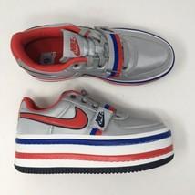 Nike Women's Sz 9 Vandal 2X Metallic Silver Red Platform Shoe AO2868-001  - $188.09