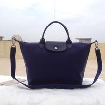 Longchamp Le Pliage Large Blue Handbag Neo Shoulder Strap 1515578556 - $79.99