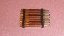NEW 10PCS ZDPH-D-ST-20-G-9G Connector HEADER 2x10 PIN 2-ROW GOLD PIN - $15.50