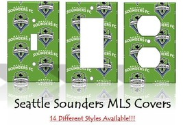 Seattle Sounders MLS Soccer Light Switch Covers Home Decor Outlet - $6.92+