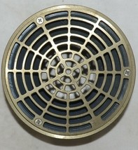 Sioux Chief 842 36LNR 2 X 3 Inch PVC On Grade Floor Drain Nickel Bronze Strainer image 1