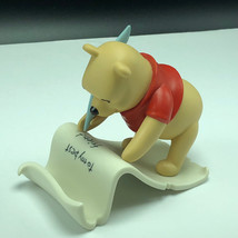 Winnie Pooh Friend Figurine Walt Disney Porcelain Enesco Spells Friendship You - $49.45