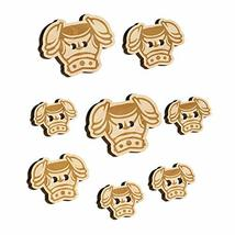 Fantasy Medieval Plate Armor Wood Buttons for Sewing Knitting Crochet DIY Craft  - $9.99