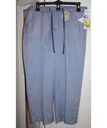 New Lee Womens Sz 10 M Natural Fit Capri Pants Ret $48 Tencel Navy Blue ... - $15.35