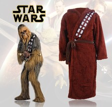 Star Wars Bath Robe Bathrobe Cloak Mantle Cosplay Costume Chewbacca Hood... - $30.50