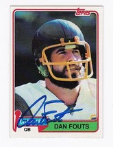 Dan Fouts Autographed Card 1981 Topps Chargers - $5.88