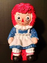 Raggedy Ann Coin Bank The Bobbs Merrill Co 1972 My Toy Co Hard Plastic V... - $33.99