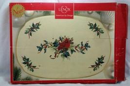 """Lenox Winter Greetings 15 1/4"""" Oblong Platter - $94.49"""