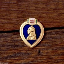 PURPLE HEART MILITARY 3D LAPEL FREE USA SHIPPING - $17.14