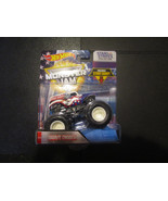 Grave Digger Stars & Stripes Collection  Includes Stunt Ramp - $7.83