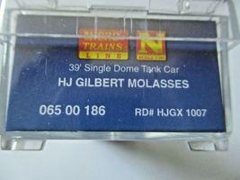 Micro-Trains # 06500186 HJ Gilbert Molasses 39'  Tank Car Car # 6 N-Scale image 5