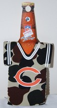 CHICAGO BEARS NFL CAMO BOTTLE DRESS COOZIE KOOZIE KOLDER NEW - $5.93