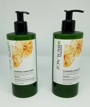 2 16.9 oz/ 500ml Matrix Biolage Cleansing Conditioner for Fine Hair - $34.58