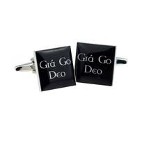 Irish Gaelic Cufflinks Forever Love Cufflinks cuff links in gift box