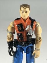 "GI Joe Mercer Renegade Hasbro 3.75"" Action Figure Vintage 1987 - $14.84"