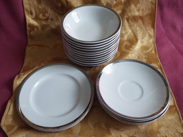 18 pieces - Satin white Grindley Staffordshire Ironstone England bowls &... - $31.99