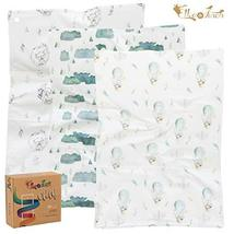 Burp Cloths by Elka&Finch. Soft Absorbent Baby Cloths That Have You Covered. wit image 12