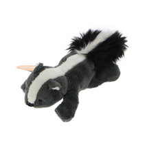 MagNICI Skunk Grey Stuffed Toy Animal Magnet in Paws 5 inches 12 cm - $11.00