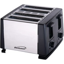Brentwood(R) Appliances TS-284 4-Slice Toaster - €35,21 EUR