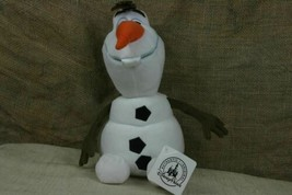 "Disney Parks Olaf Snowman Plush Frozen 12"" Toys Authentic NEW With Tags  - $7.43"