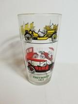 Rare Vintage Classic Cars Pint Glass Stutz Chevy Ford Studebaker Hudson ... - $36.25
