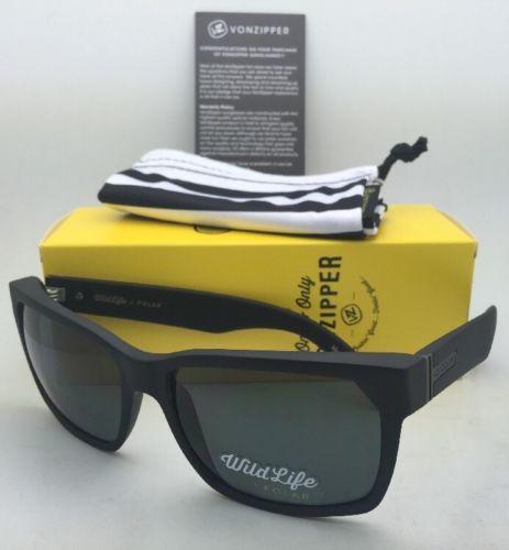 3f420171c8 12. 12. Previous. Polarized VONZIPPER Sunglasses VZ ELMORE Black Satin Frame  w  WildLife Grey Lens