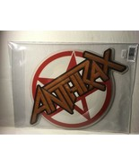 ANTHRAX : Carry On My Wayward Son SHAPED PICTURE DISC RSD Black Friday 2017 - $27.50