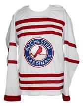 Custom name   rochester cardinals retro hockey jersey white   1 thumb200
