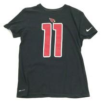 Nike Arizona CARDINALS Larry Fitzgerald Shirt Size Medium Black Dry Fit ... - $23.53