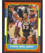 KAREEM ABDUL-JABBAR Card RP #1 Lakers 1986 F Free Shipping - $2.95