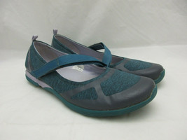 Merrell Select Fresh Mary Janes Shoes Flats Women's Size 9 Teal and Lilac - $35.49